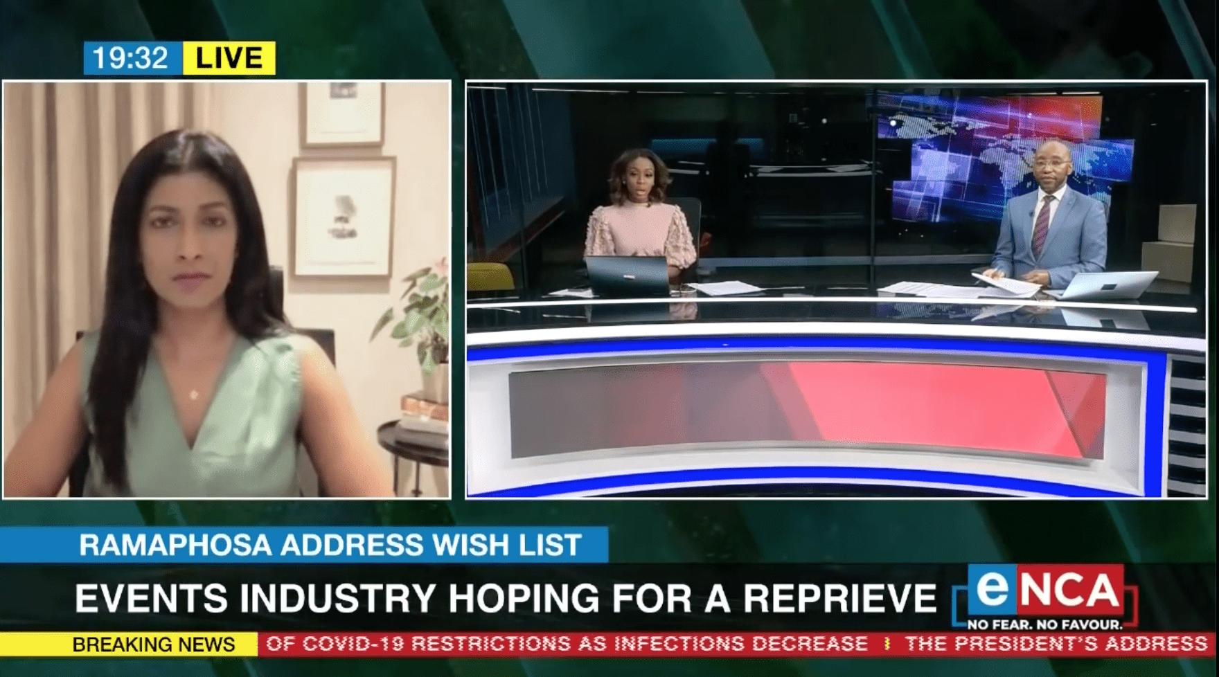 Ramaphosa Address Wishlist | Events Industry Wants Reprieve